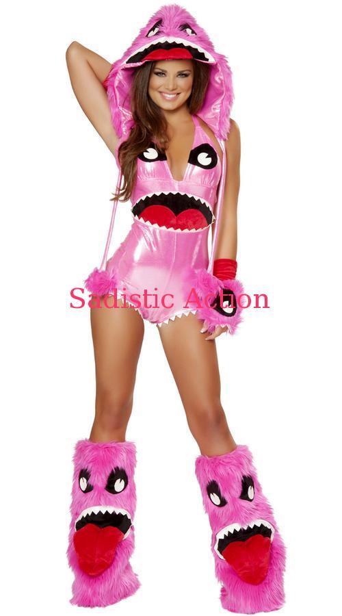 【即納 Deluxe】J. Valentine Deluxe Pink Monster【即納】J. Monster Costume【ハロウィンコスチューム】【J Valentine(ダンスウェア、衣装、コスチューム、小物)】【JV-CO-JJ178】, ファッション&インテリア Ane-INN:3e15e9e7 --- officewill.xsrv.jp