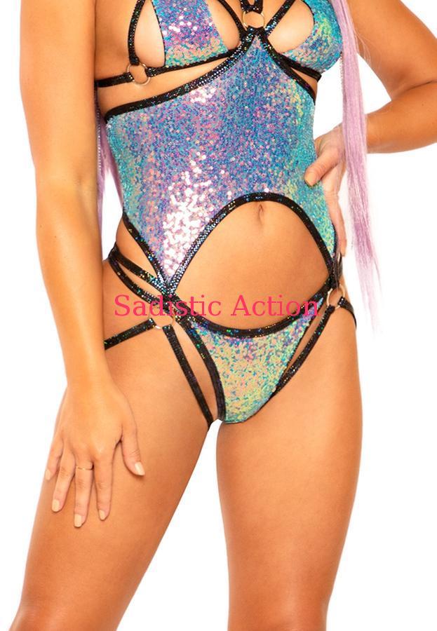 【即納】J.Valentine Double Strap Sequin Bottom 【J Valentine(ダンスウェア、衣装、コスチューム、小物)】【ボトム・スカート】【JV-DW-FF312-WA/OP】