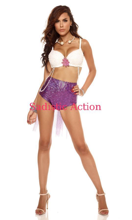【即納】Forplay Swanky Splash Mermaid Two Piece Costume 【Forplay (ダンスウェア、衣装、コスチューム、小物)】【ハロウィンコスチューム】【FOR-CO-556405】