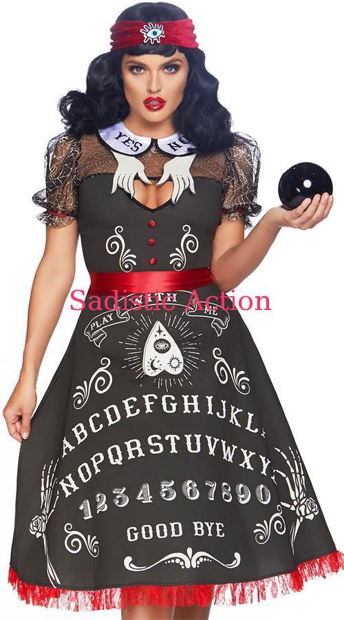 【即納】Leg Avenue Spooky Board Beauty 【Leg Avenue (ストッキング、ランジェリー、衣装、コスチューム、小物)】【ハロウィンコスチューム】【LEG-CO-86812】