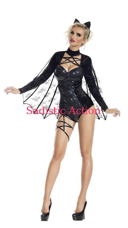 【即納】PARTY KING Bat Honey Womens Costume 【ハロウィンコスチューム】【PARTY KING(コスチューム、コスチュームアクセサリー、衣装)】【PK-CO-PK926】