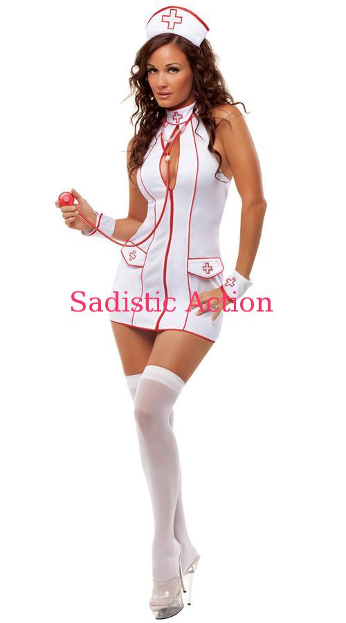 【即納】STARLINE Frisky Nurse Costume 【ハロウィンコスチューム】【STARLINE (コスチューム、ランジェリー、衣装)】【SL-CO-S2016】