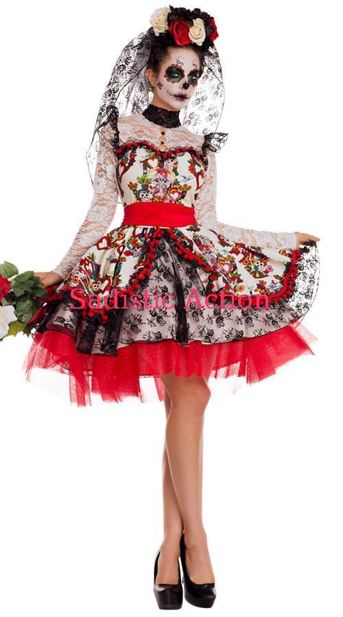 【即納】PARTY KING KING Women's Women's La Novia Novia Costume【ハロウィンコスチューム】【PARTY KING(コスチューム、コスチュームアクセサリー、衣装)】【PK-CO-PK843】, IKEGAMI化粧雑貨SHOP5:6ce56300 --- officewill.xsrv.jp