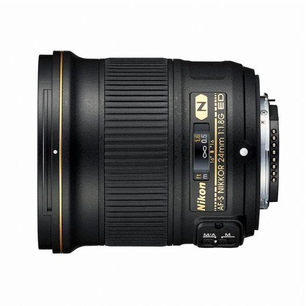【エントリーでポイント5倍】ニコン(Nikon) AF-S NIKKOR 24mm f/1.8G ED