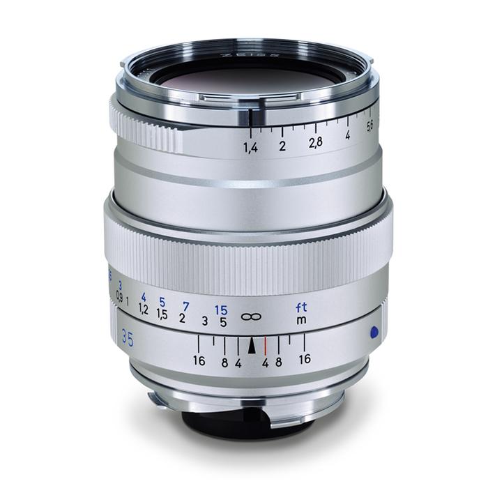 【エントリーでポイント5倍】Carl Zeiss(カールツァイス) T* 35mm F1.4 ZM(ライカM用) シルバー