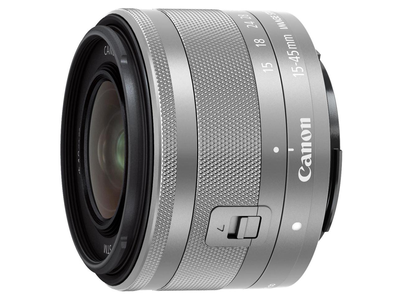 【エントリーでポイント5倍】キヤノン(Canon) ミラーレス用レンズ EF-M15-45mm F3.5-6.3 IS STM シルバー