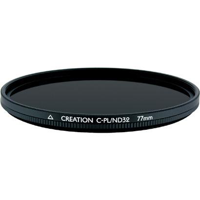 【エントリーでポイント5倍】マルミ(MARUMI) クリエイション(CREATION) C-PL/ND32 [C-PLフィルター 77mm]