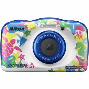 【エントリーでポイント5倍】ニコン(Nikon) デジタルカメラ COOLPIX W100 マリン