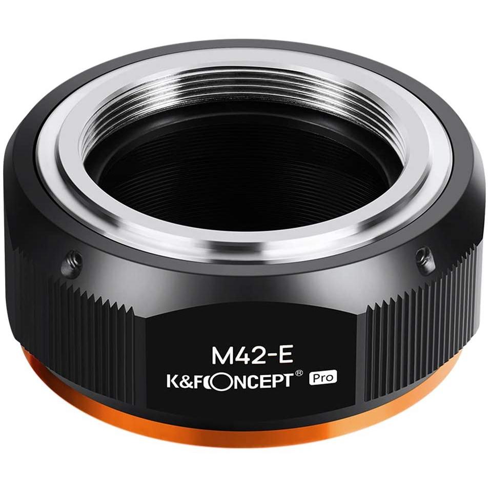 KF Concept マウントアダプター 最安値に挑戦 M42マウントレンズをソニーEマウントに取付け KF-42E.P 限定特価