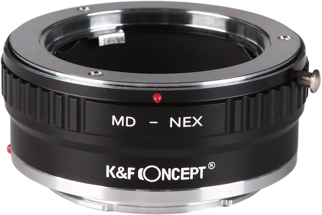 KF Concept マウントアダプター ミノルタMD 超激安特価 をソニーEマウントに取付け オンライン限定商品 KF-SRE2 MC│SRマウントレンズ