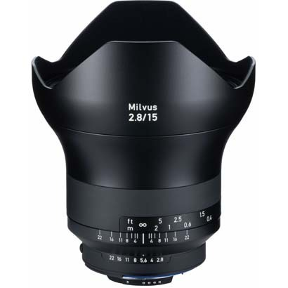 Carl Zeiss(カールツァイス)Milvus 2.8/15 ZF.2(CPU付きニコンAi-S)