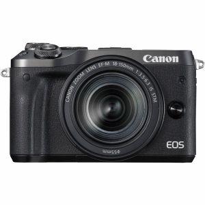 【エントリーでポイント5倍】キヤノン(Canon) ミラーレス一眼 EOS M6 EF-M 18-150 IS STM レンズキット ブラック