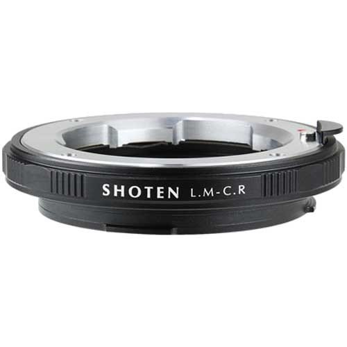 SHOTEN マウントアダプター (ライカMマウントレンズをキヤノンRFマウントボディに取付け) LM-CR