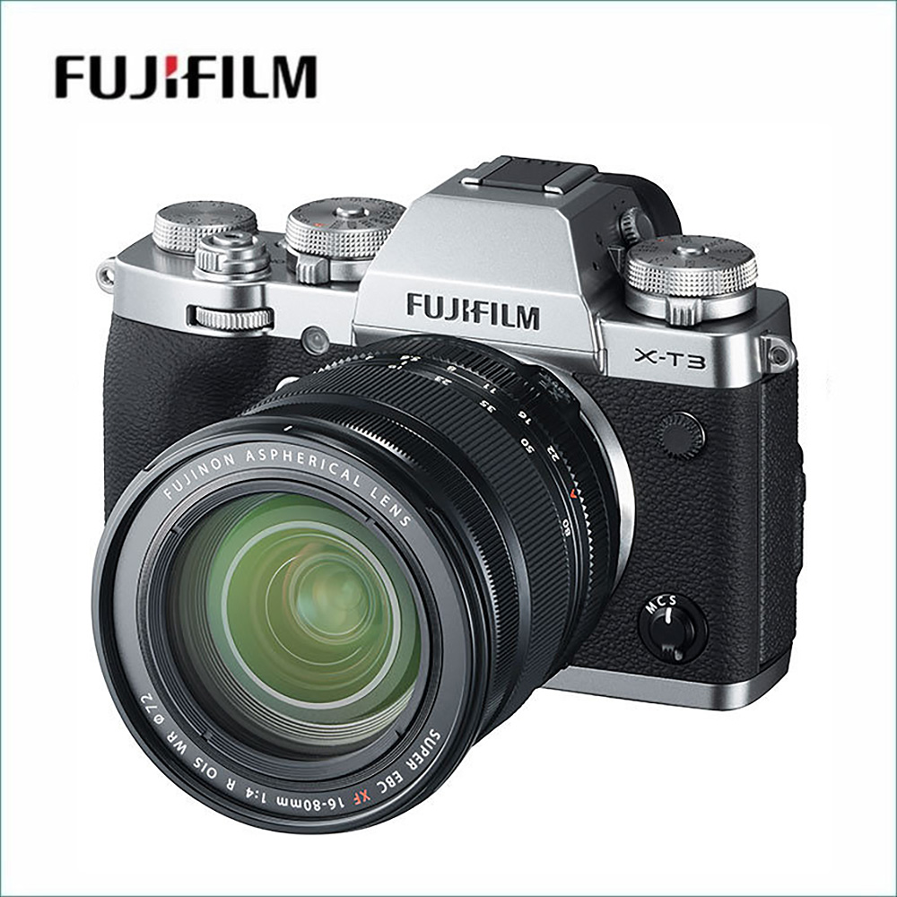 フジフイルム(FUJIFILM) X-T3 XF16-80mm レンズキット シルバー