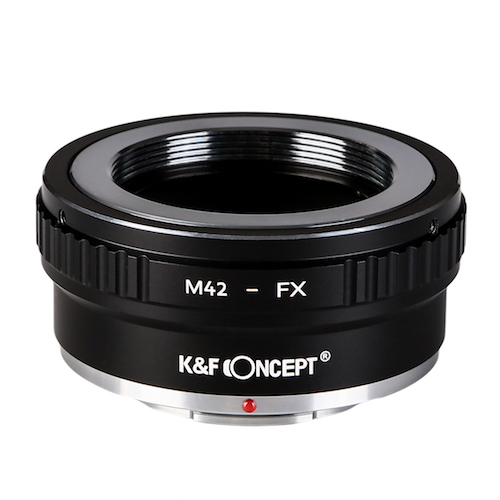 KF Concept マウントアダプター 誕生日/お祝い M42マウントレンズをフジフィルムXマウントに取付け KF-42X2 倉