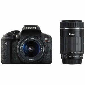 キヤノン(Canon) デジタル一眼レフ EOS Kiss X8i ダブルズームキット 「EF-S 18-55mm F3.5-5.6 IS STM」「EF-S 55-250mm F4-5.6 IS STM」