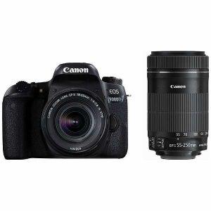 【エントリーでポイント5倍】キヤノン(Canon) EOS 9000D ダブルズームキット[EF-S 18-55mm F4-5.6 IS STM+EF-S 55-250mm F4-5.6 IS STM ]