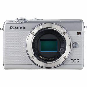 【エントリーでポイント5倍】キヤノン(Canon) ミラーレス一眼 EOS M100 ボディ(レンズ別売)ホワイト