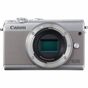 【エントリーでポイント5倍】キヤノン(Canon) ミラーレス一眼 EOS M100 ボディ(レンズ別売)グレー