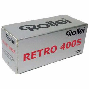 【エントリーでポイント5倍】ローライ【Rollei】 白黒フィルム Retro 400s 120×10本