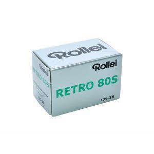ローライ【Rollei】 白黒フィルム Retro 80s 135×10本