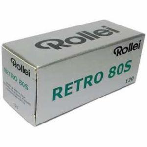 ローライ【Rollei】 白黒フィルム Retro 80s 120×10本