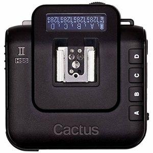 Cactus(カクタス) 電波式ワイヤレストランシーバー Cactus V6II ハイスピードシンクロ対応