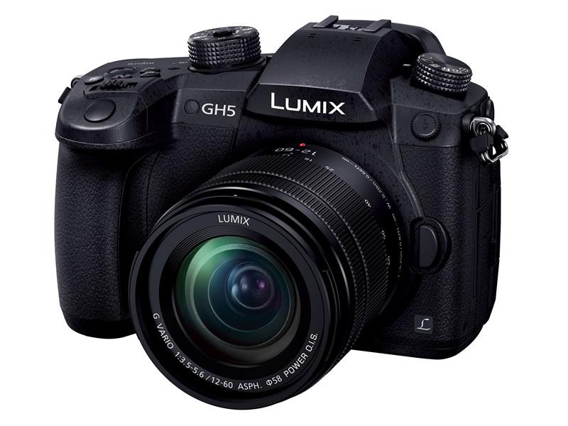 【エントリーでポイント5倍】パナソニック(PANASONIC) LUMIX ルミックス DC-GH5M-K レンズキット ブラック