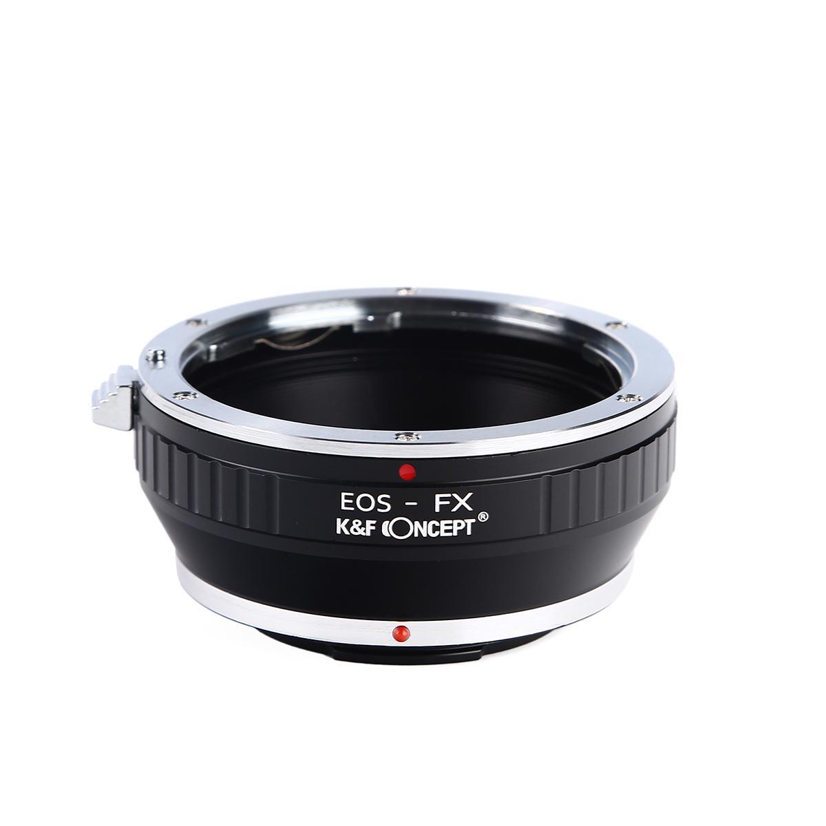 驚きの値段で KF Concept マウントアダプター 商舗 KF-EFX キヤノンEFレンズをフジフイルムXシリーズに取付け