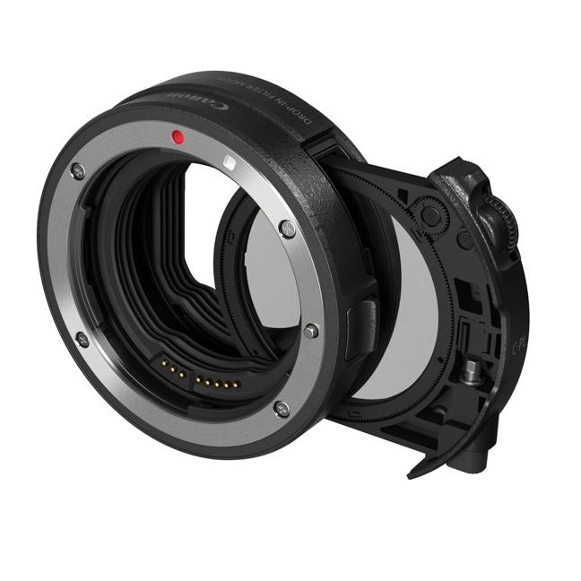 【エントリーでポイント5倍】キヤノン(Canon) ドロップインフィルター マウントアダプター EF-EOS R ドロップイン 可変式NDフィルター A付