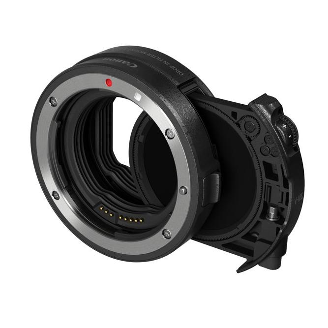 【エントリーでポイント5倍】キヤノン(Canon) ドロップインフィルター マウントアダプター EF-EOS R ドロップイン 円偏光フィルター A付