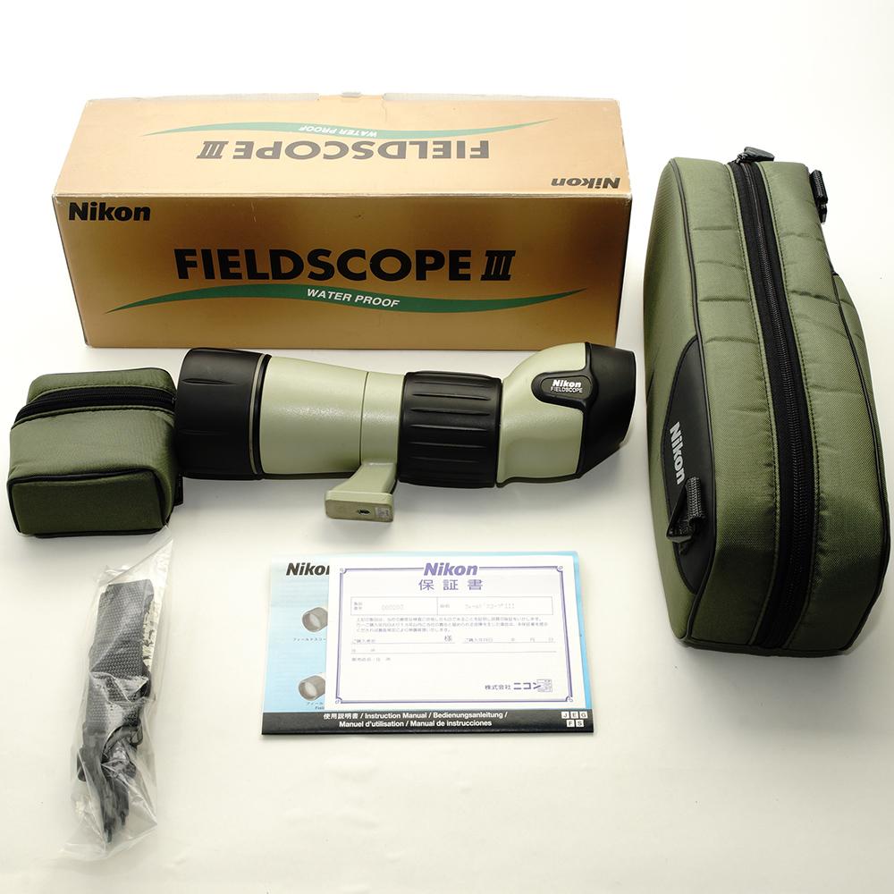 【直営店舗 店頭展示品】ニコン(Nikon) フィールドスコープ(FIELDSCOPE) III