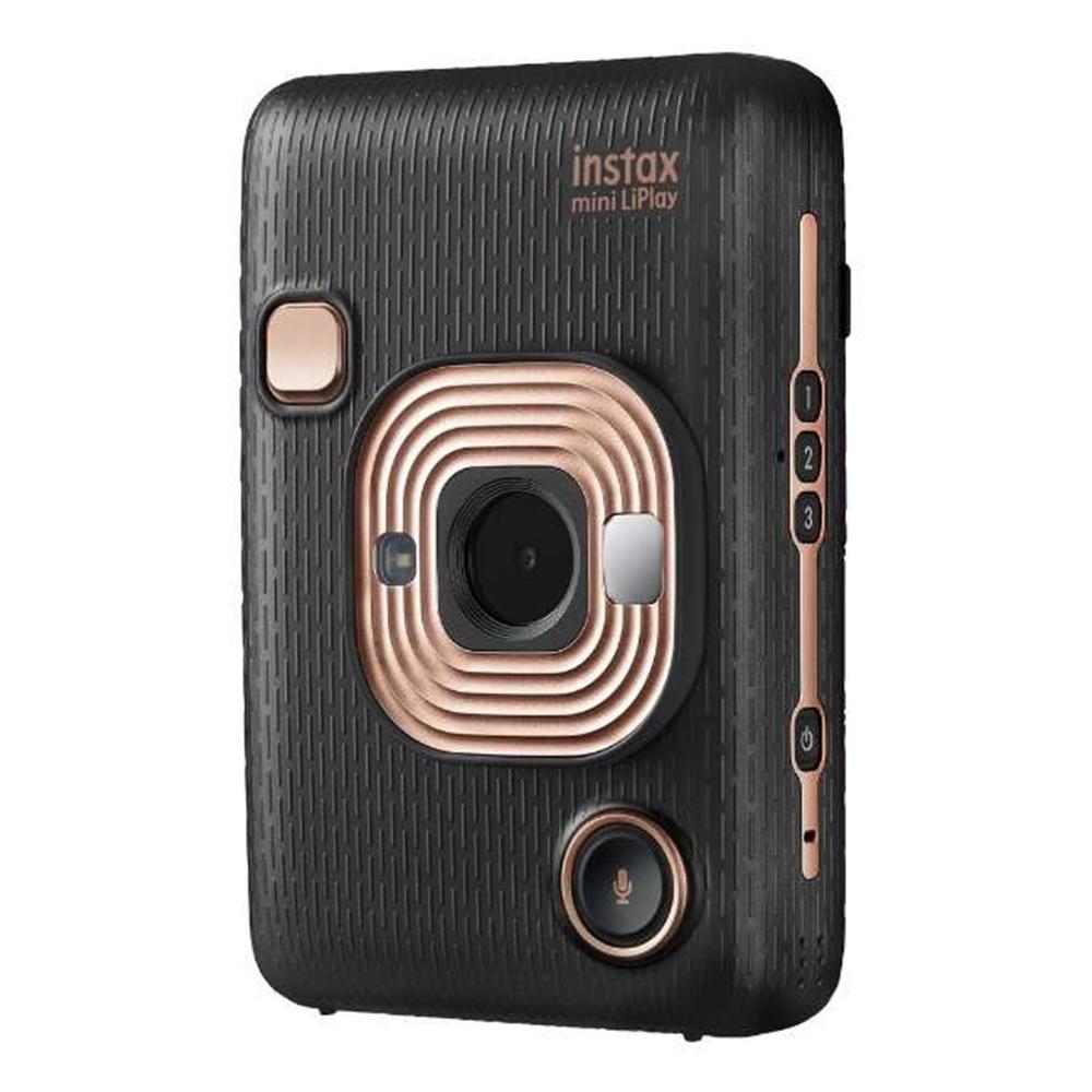 フジフィルム (FUJIFILM) ハイブリッドインスタントカメラ チェキ instax mini LiPlay エレガントブラック
