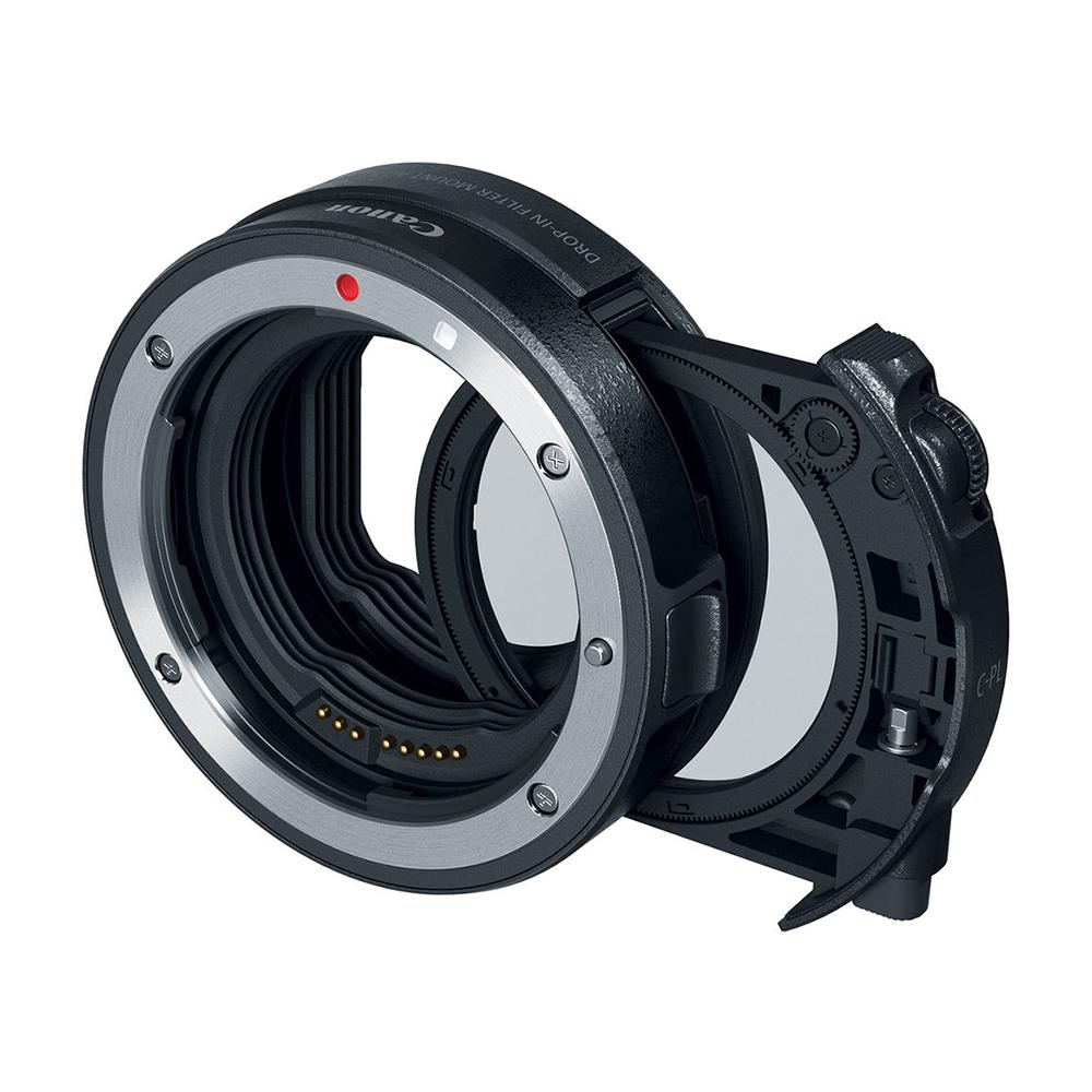 キヤノン(Canon) ドロップインフィルター マウントアダプター EF-EOS R ドロップイン 円偏光フィルター A付