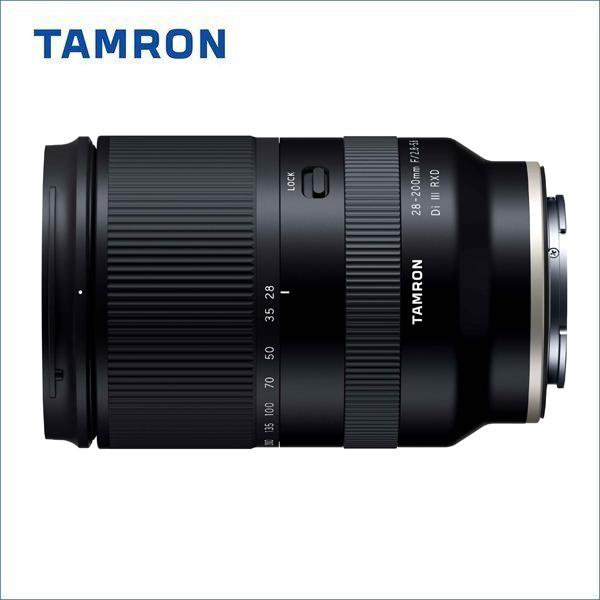 【2020年6月25日発売】 タムロン(TAMRON) 28-200mm F2.8-5.6 DiIII RXD/Model A071SF ソニーEマウント/フルサイズ対応