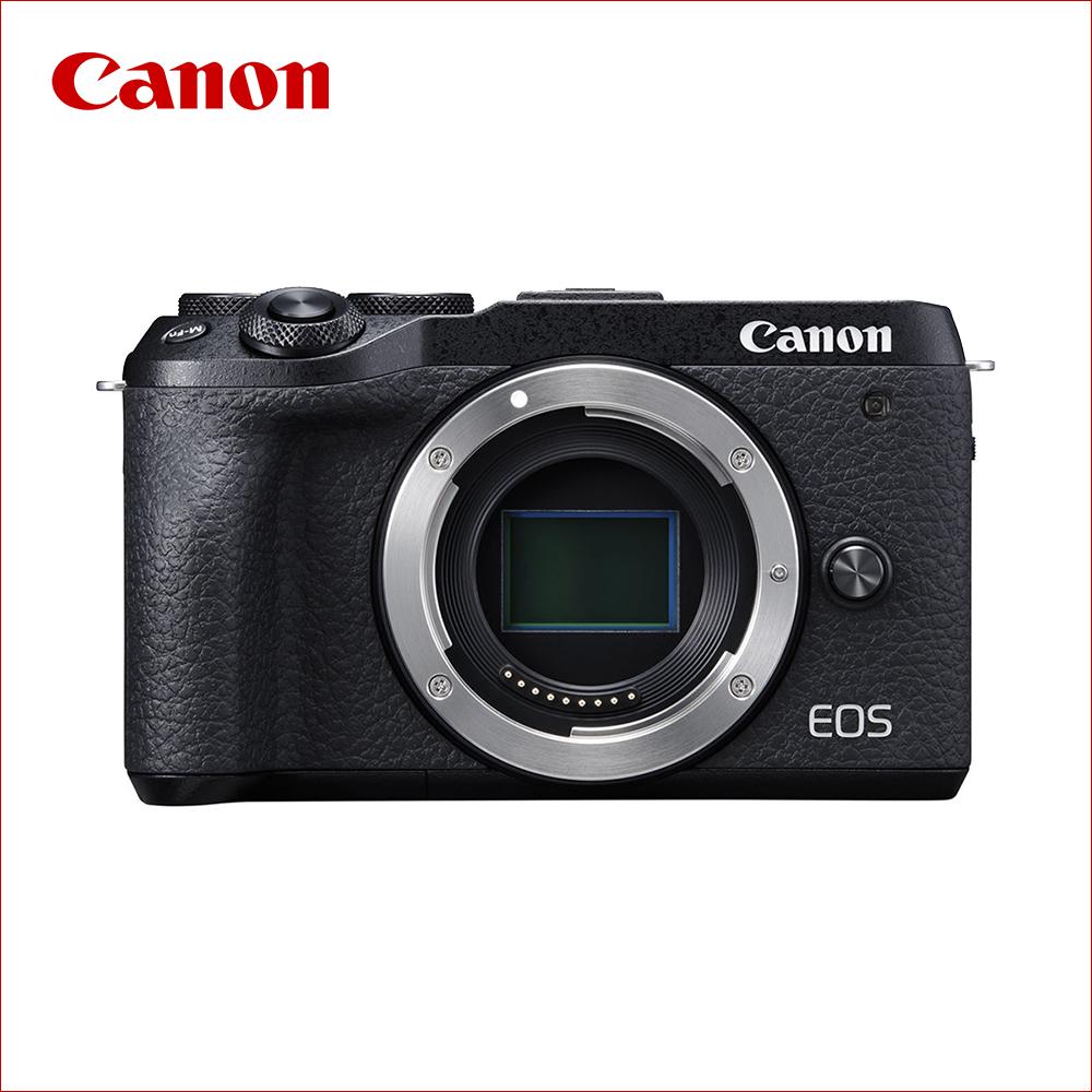キヤノン(Canon) ミラーレス一眼 EOS M6 Mark II ボディ ブラック (レンズ別売)