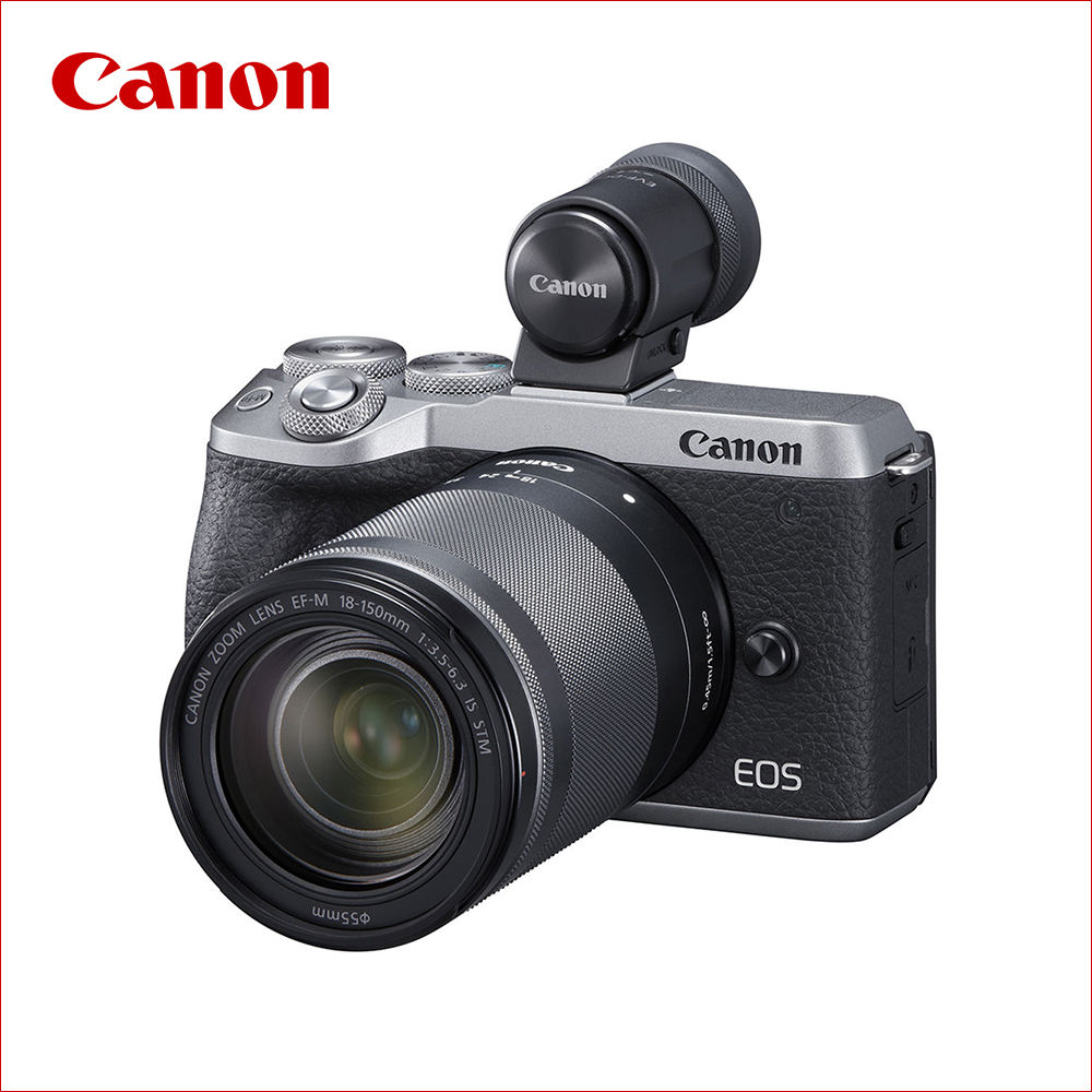 キヤノン(Canon) ミラーレス一眼 EOS M6 Mark II EF-M18-150 IS STM レンズEVFキット シルバー