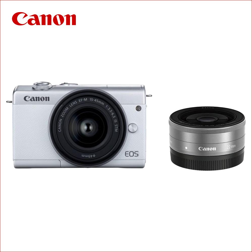 キヤノン(Canon) ミラーレス一眼 EOS M200 ダブルレンズキット ブラック