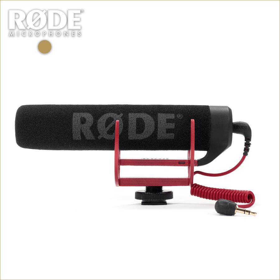 RODE(ロード) VIDEOMIC GO (ビデオマイクGO) ビデオカメラ用マイク/ショットガンマイク
