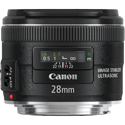 【エントリーでポイント5倍】キヤノン 交換レンズ EF28mm F2.8 IS USM