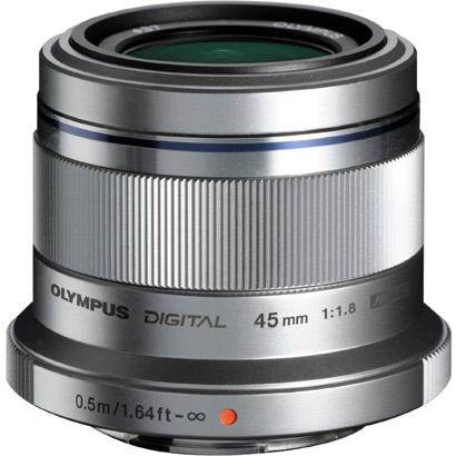 オリンパス(OLYMPUS) 交換レンズ M.ZUIKO DIGITAL 45mm F1.8 シルバー