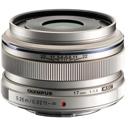 オリンパス(OLYMPUS) 交換レンズ M.ZUIKO DIGITAL 17mm F1.8 シルバー