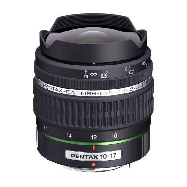 【エントリーでポイント5倍】ペンタックス DA FISH-EYE 10-17mmF3.5-4.5ED (IF)