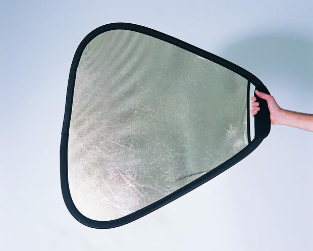 【エントリーでポイント5倍】ラストライト(Lastolite) トラグリップ・リフレクター 75cm サンライト/ソフトシルバー LR3628