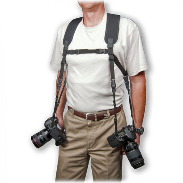 オプテック(OP/TECH) カメラストラップ デュアルハーネス