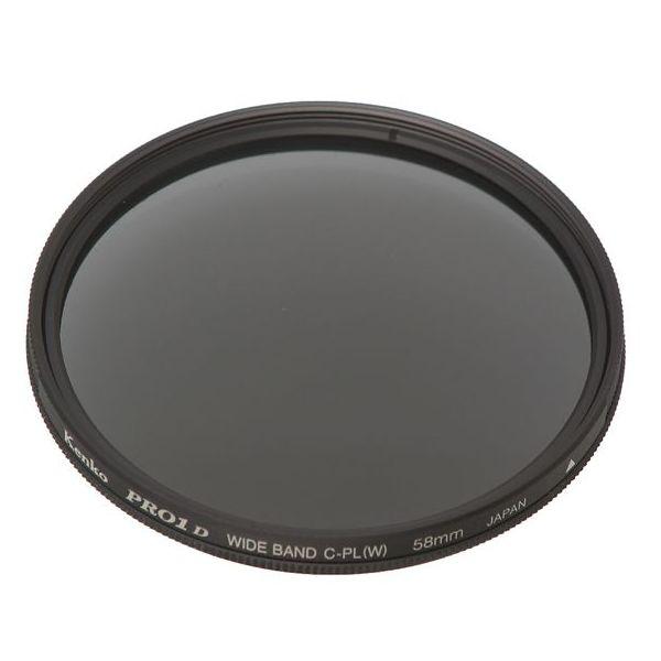 【エントリーでポイント5倍】ケンコー フィルター PRO1D ワイドバンド サーキュラーPL(W)77mm
