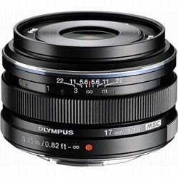 【エントリーでポイント5倍】オリンパス(OLYMPUS) 交換レンズ M.ZUIKO DIGITAL 17mm F1.8 ブラック