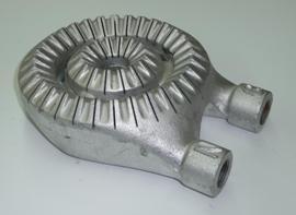 スリットバーナ・山型(混合管付)7インチ φ180mm