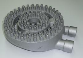 中華バーナ(混合管付)10インチ φ250mm