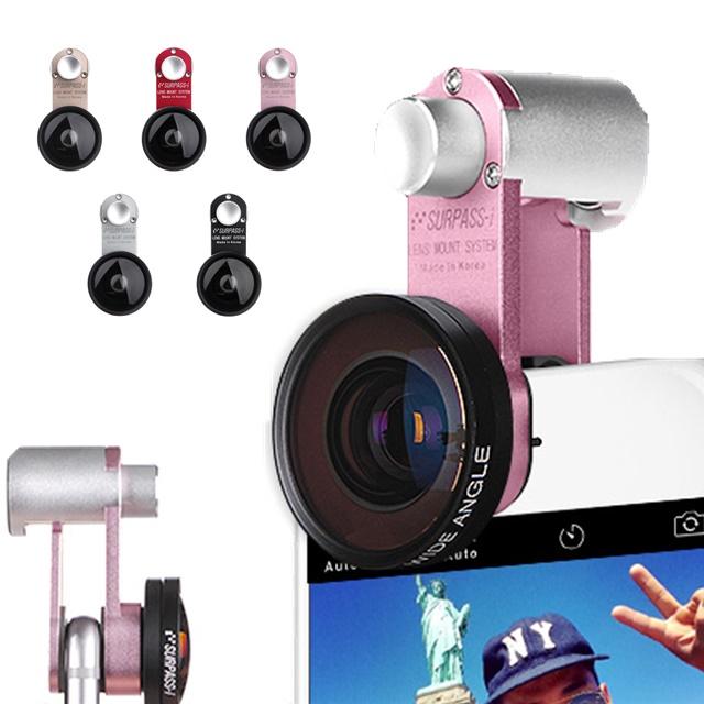 高機能レンズ 超高品質セルカレンズ 広角レンズセット セルカレンズマウント SURPASS-i 広角レンズセット 広範囲 カメラ セルカ レンズ インスタ SNS 自撮り 旅行 イベント アウトドア